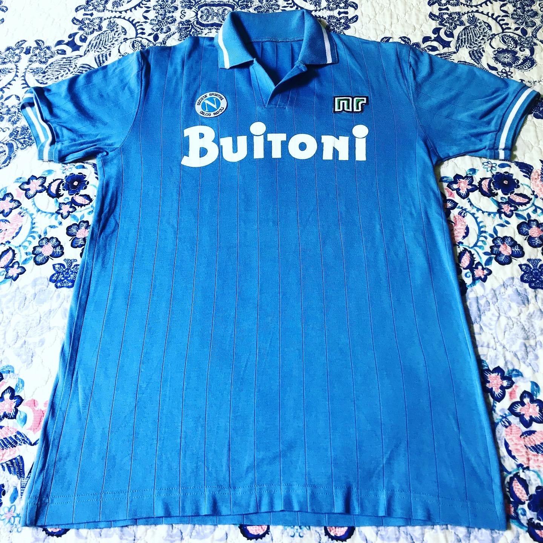 Napoli Home Maillot de foot 1986 - 1987. 8edfd8043