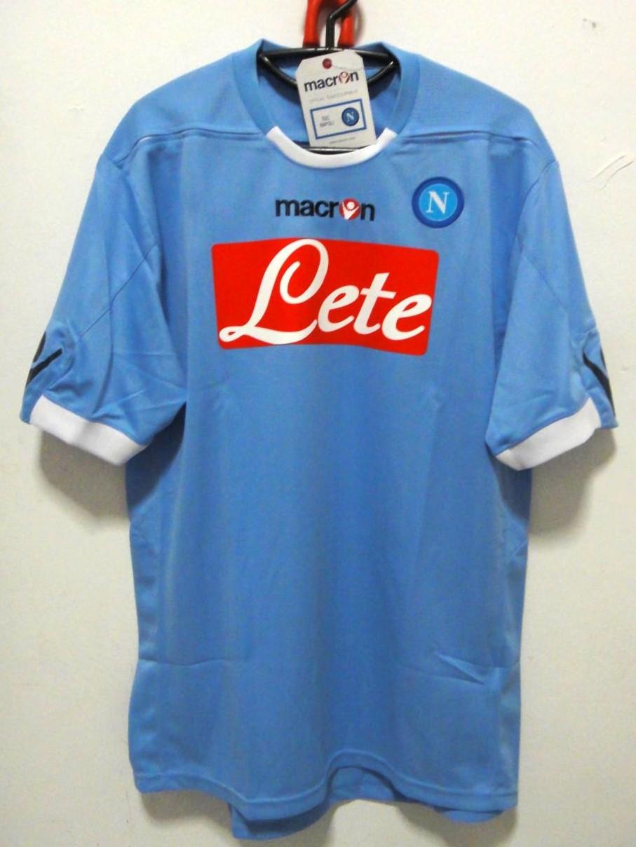 Napoli Home camisa de futebol 2010 - 2011. fd2373a48e7c5