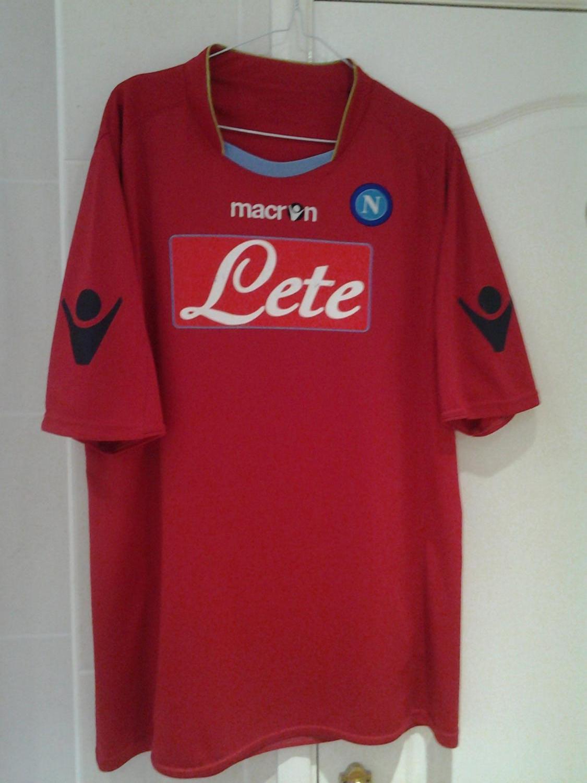 Napoli Third Camiseta de Fútbol 2009 - 2010. bcb1a5e74fd34