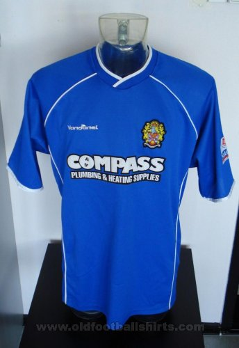 Dagenham & Redbridge Away football shirt 2003 - 2005