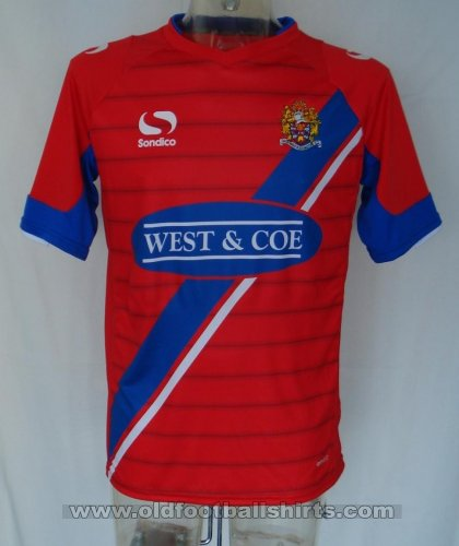 Dagenham & Redbridge Home football shirt 2013 - 2015