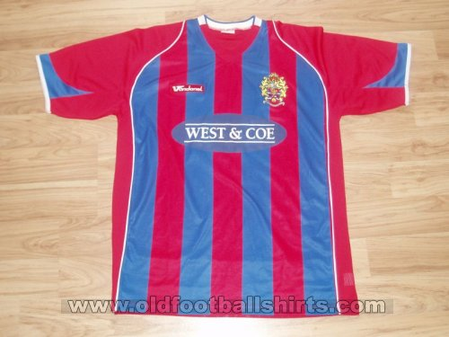 Dagenham & Redbridge Home football shirt 2007 - 2008