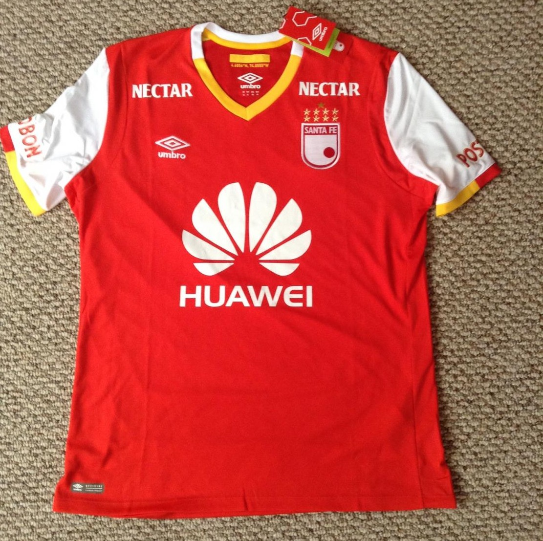 Independiente Santa Fe Home football shirt 2017. 9bcdc4706