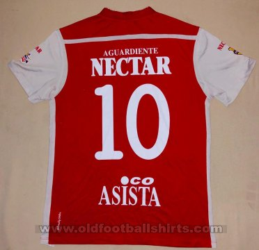 Independiente Santa Fe Home baju bolasepak 2012